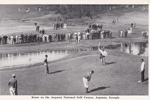 SOLD.Bobby Jones/Augusta's 12th .Ref 148. C.1930s