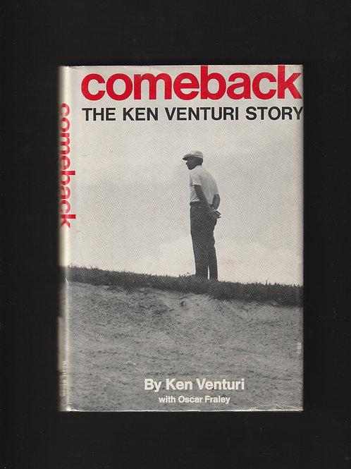 Ken Venturi SIGNED Autobiography Ref. GB.184