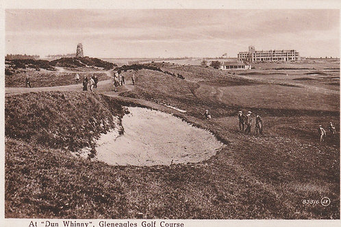 Gleneagles Golf Course Set of 12 cards Ref.984 C.1914-18