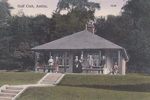 Antrim Golf Club.Ref 337. C.Early 1900