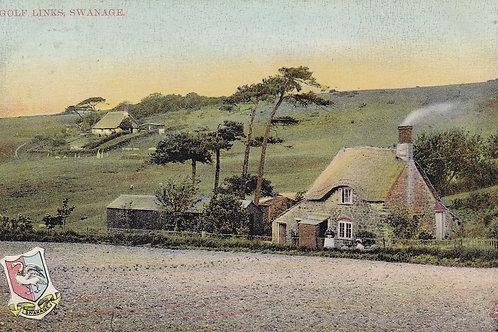 Swanage Golf Links & Golf Cottage Ref.916 C.pre 1909