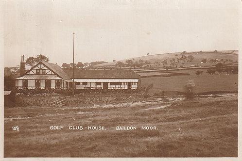 Baildon Moor Golf Club House Ref.2399 C.Pre 1917