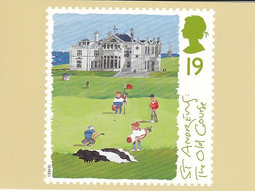 St Andrews Stamp PC Ref.1665 C.1994