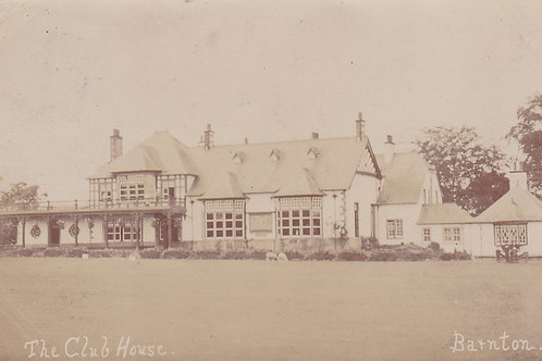 Barnton Golf Club House Ref.335a C.1906