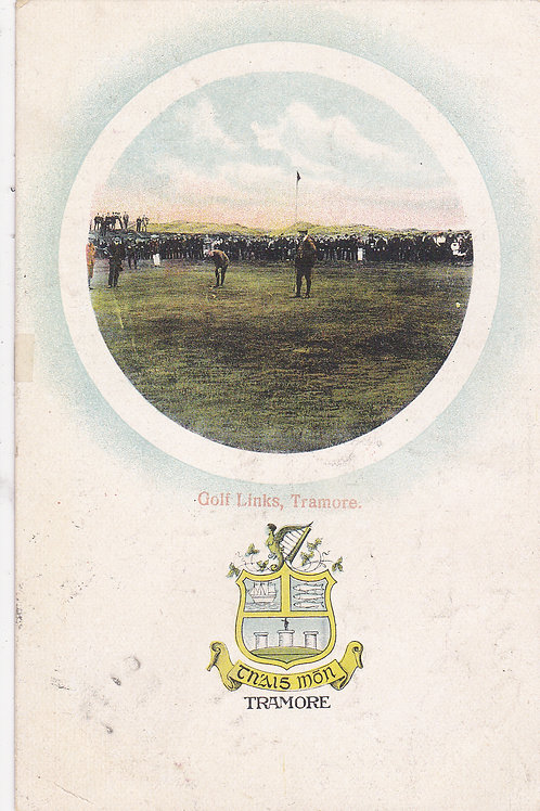 Tramore Golf Links,Waterford.Ref 449. C.Early 1900