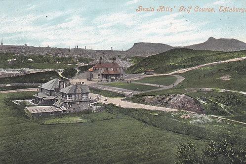 Braid Hills Golf Club House Ref.1929 C.1910-15