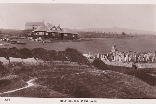 Stonehaven Golf House & Course Ref.2127a C.1910-15
