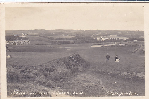 North Cornwall Golf Links. Ref 395 C.Early 1900s