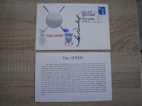 Old Troon 1973 British Open FDC Ref.032
