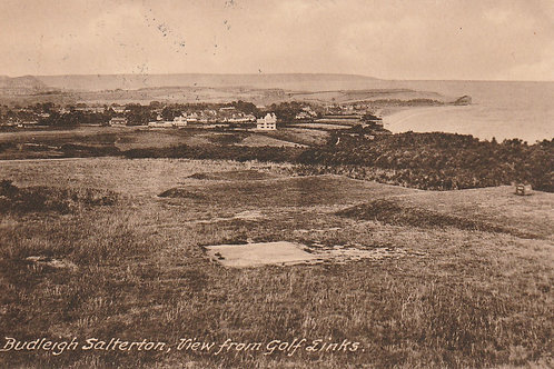 Budleigh Salterton Links & Village Ref.2402 C.1925