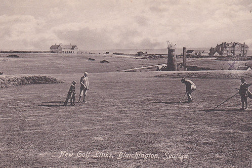 Seaford Golf Links(Blachington)C.1914-18 Ref 133