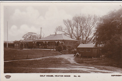 Heaton Moor Golf Pavilion Ref 1315 C.Early 1900