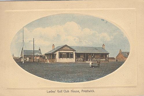 SOLD>Ref.285.Prestwick Ladies Golf House.Ref 285.C.1900s