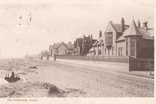 SOLD>Ref.534.Leven Golf Club Houses & Beach.Ref 534. C.1904