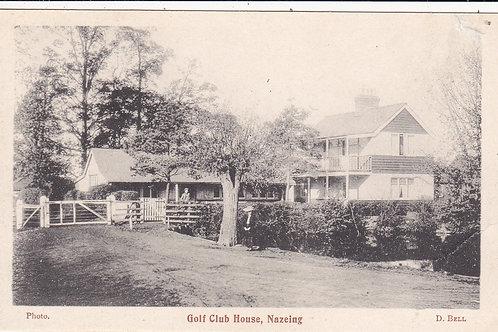 Nazing Golf Club House Ref.1384 C.1904