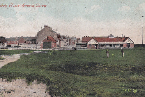 Seaton Carew Golf Links,18th Green.Ref 451. C.1903