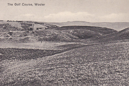 Wooler Golf Course  & Pavilion.Ref.1860 C.early 1900s