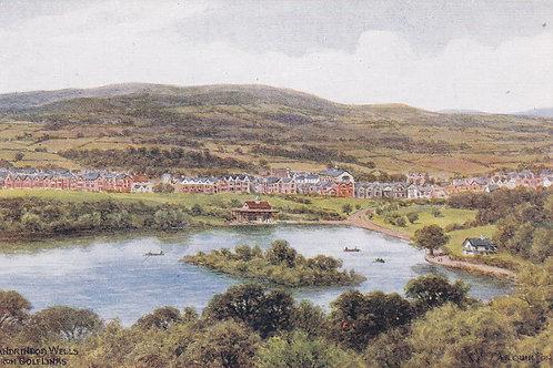 Llandrindod Wells from The Links.Ref.630 C.1918-39
