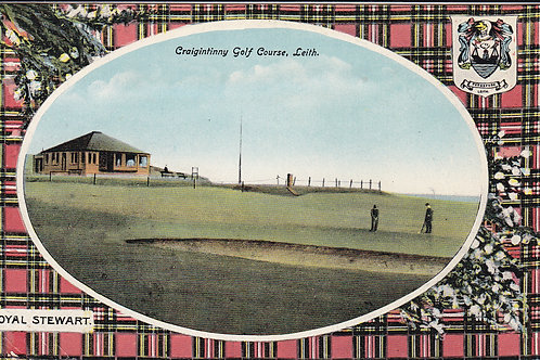 Craigintinny Golf Club,Leith Ref.1654 C.1916