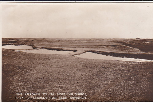 St Georges 15th Hole Approach Ref.741 C.1930