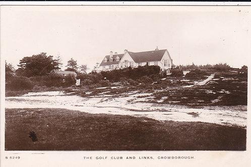 Crowborough Golf Club. Ref 1018 C.1910-15