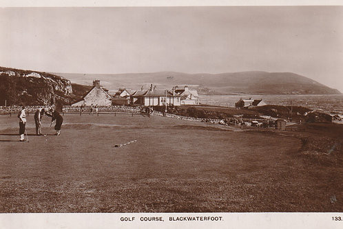 Blackwaterfoot Golf Links Ref.2586 C.1920s-30s