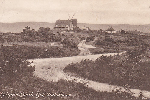 Reigate Heath Golf House & Windmill.Ref 098 C.1917