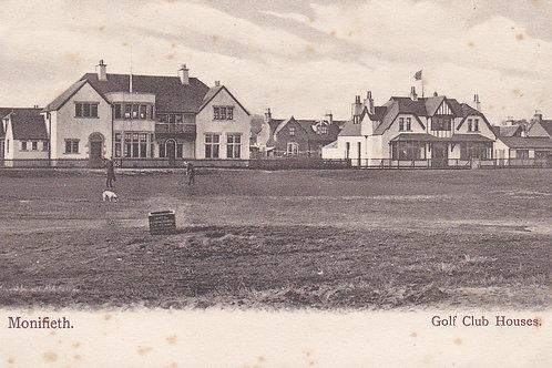 Monifieth Golf Club Houses.Ref 823. C.1905-10