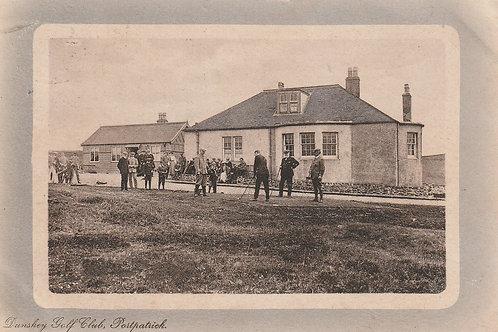 Portpatrick Dunskey Golf Links Ref.2669 C.pre 1914
