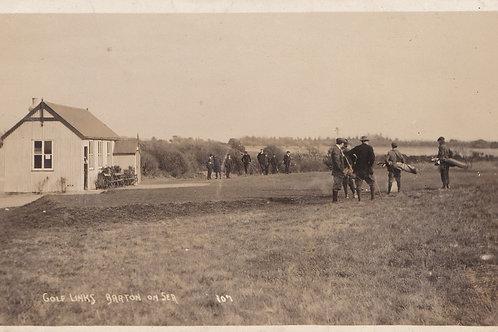 Barton-on-Sea Golf Club House.Ref 817. C.1913