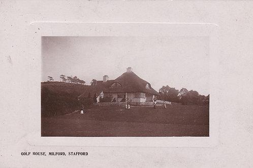 Milford Golf Club House  Ref.1006a C.1911