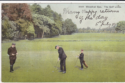 Woodhall Spa Golf Links, lincs Ref.1487 C.1905