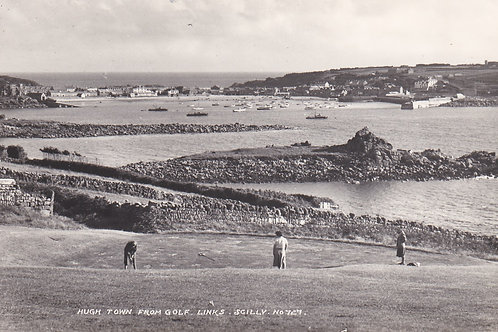 Isles of Scilly Golf Links,Nr.Hughtown Ref.1719a