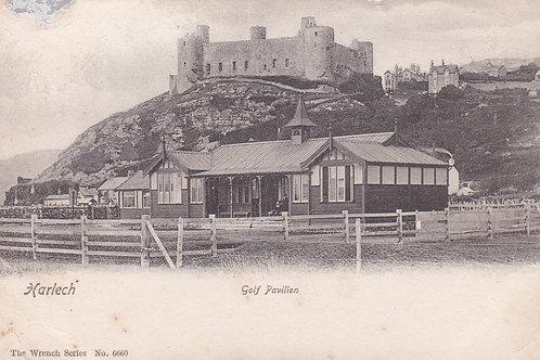 Harlech Golf Pavilion & Castle Ref.1807 C.1903-08