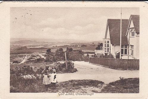 Crowborough Golf House & Links.Ref 489 C1912