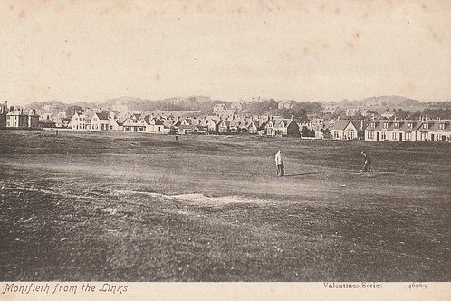 Monifieth Golf Club Houses & Links Ref.2309 C.1905