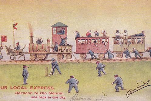 Dornoch to the Mound Cricket Ref.2250a C.1903-5