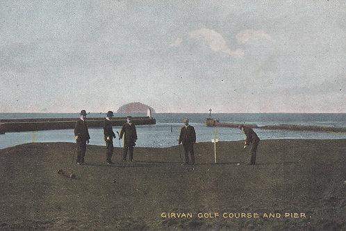 Girvan Golf Links Ref.2050a C.Pre 1914
