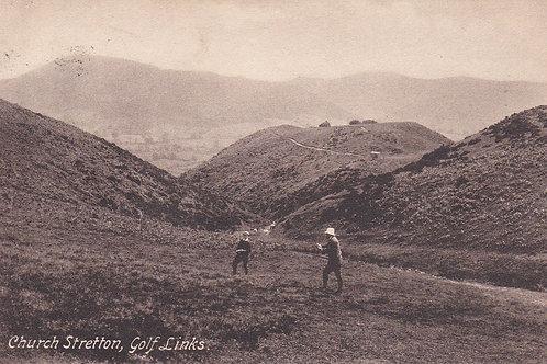 Church Stretton Golf Links.Ref 711. C.1912