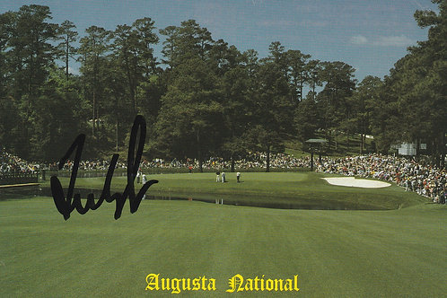 Couples, Freddie Signed Masters P.C. Ref 2025a