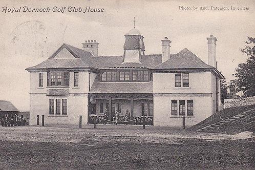 Dornoch Golf Club House Ref.2201a C.1911