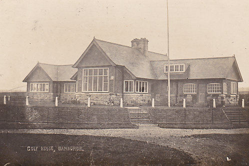 Bamburgh Golf Club House.Ref 290.  C.1909