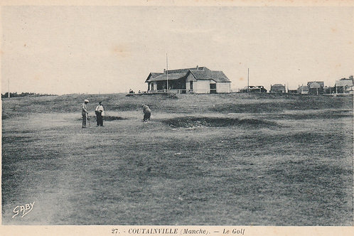 Coutainville Golf Links Ref.2498 C.1919-30