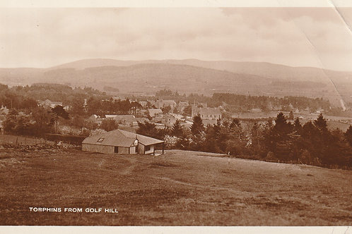 Torphins Golf Course Ref.1506a C.Pre 1944 wartime