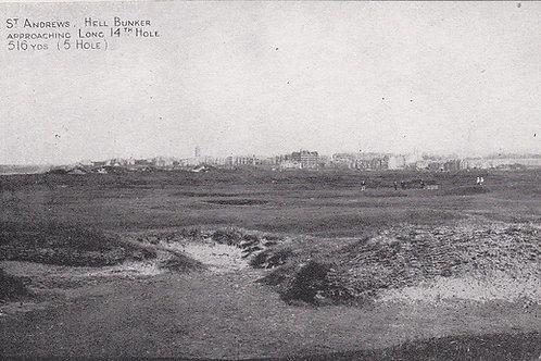 St.Andrews Hell Bunker Ref.223 C.1905-10