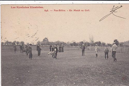 Vardon v Braid Match at Pau C.1907 Ref.1443