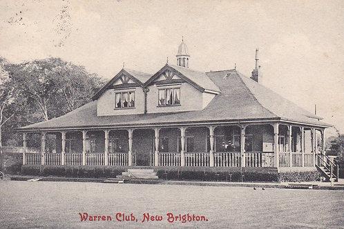 Warren Golf House,New Brighton C.1907 Ref.1447a
