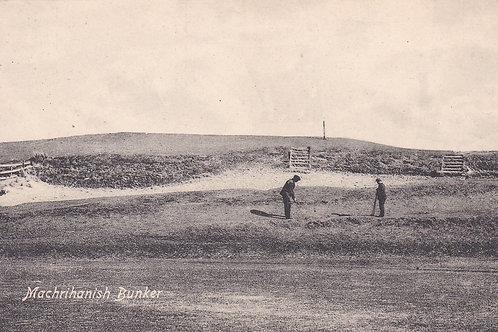 Machrihanish Bunker Ref.1852 C.1914-18