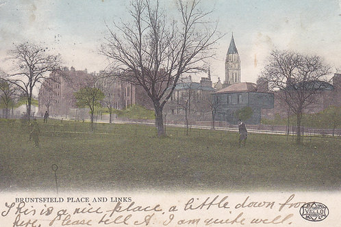 Bruntsfield Place & Links.Ref 448. C.1904