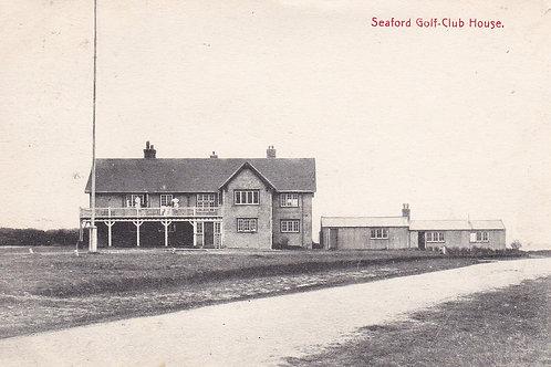 Seaford Golf Club House.Ref 291.Sussex C.1914